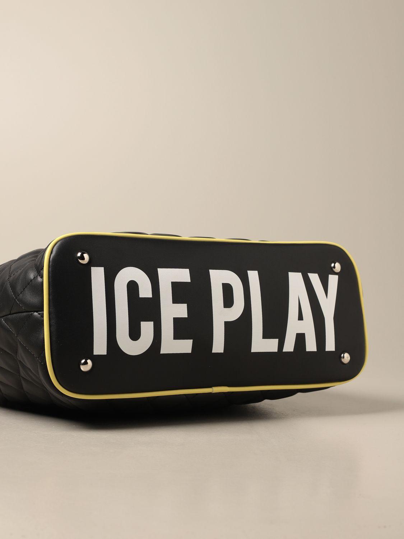 Сумка-тоут Ice Play: Наплечная сумка Женское Ice Play черный 3