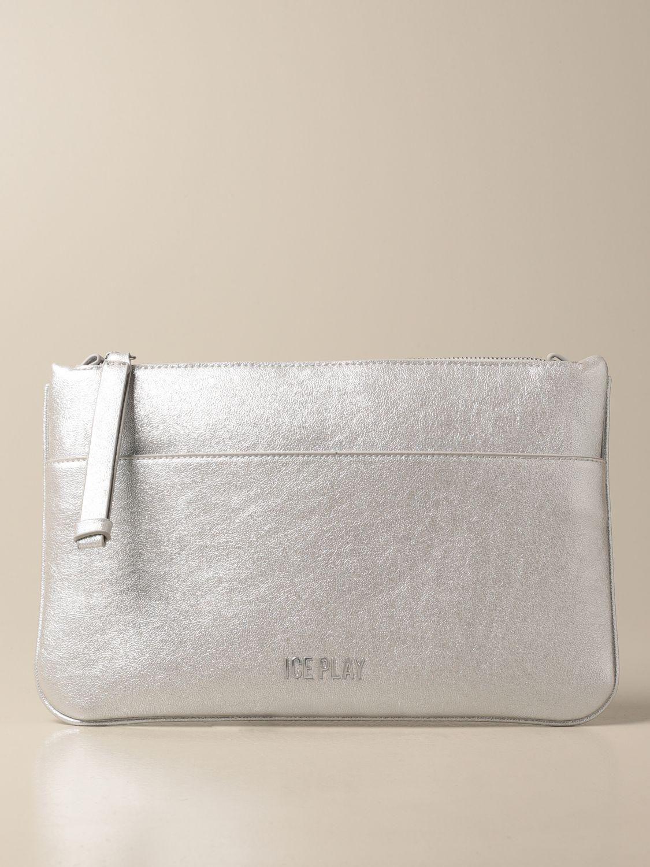 Вечерняя сумочка и клатч Ice Play: Наплечная сумка Женское Ice Play серебряный 1