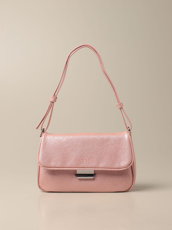 Наплечная сумка Ice Play: Наплечная сумка Женское Ice Play розовый 1