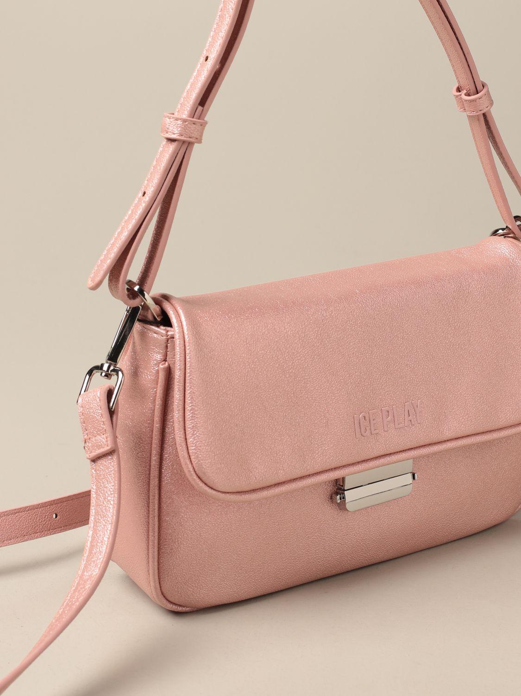Наплечная сумка Ice Play: Наплечная сумка Женское Ice Play розовый 3