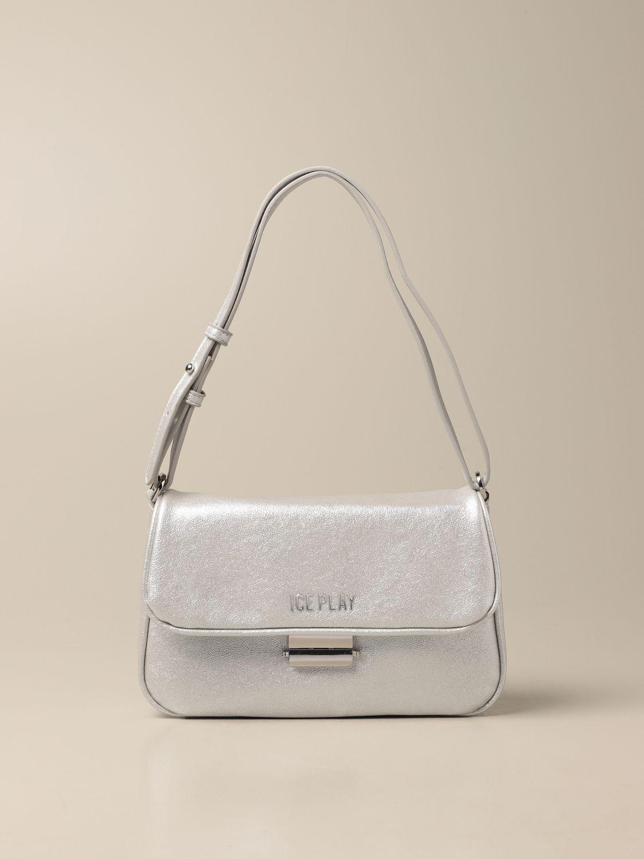 Наплечная сумка Ice Play: Наплечная сумка Женское Ice Play серебряный 1