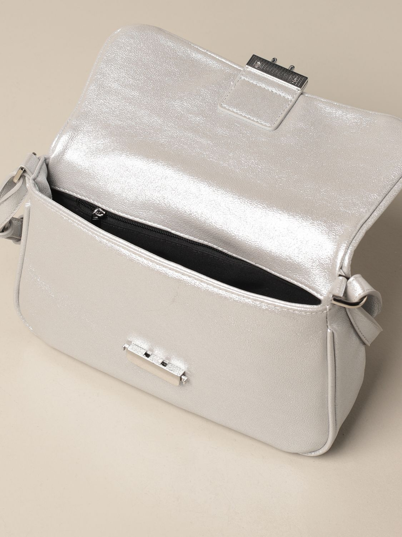 Наплечная сумка Ice Play: Наплечная сумка Женское Ice Play серебряный 3
