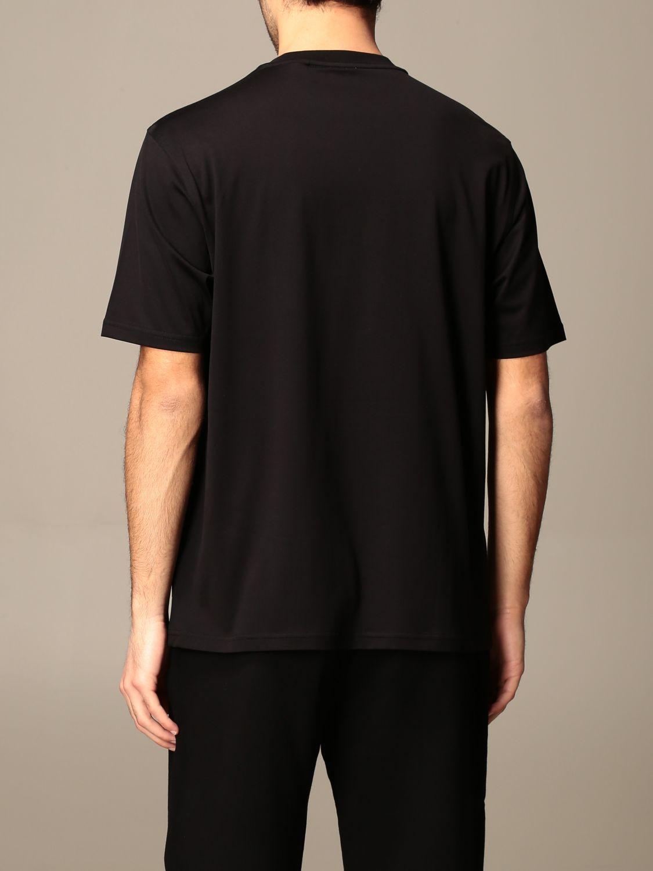 T-shirt Burberry: Letchford Burberry cotton t-shirt with logo black 3