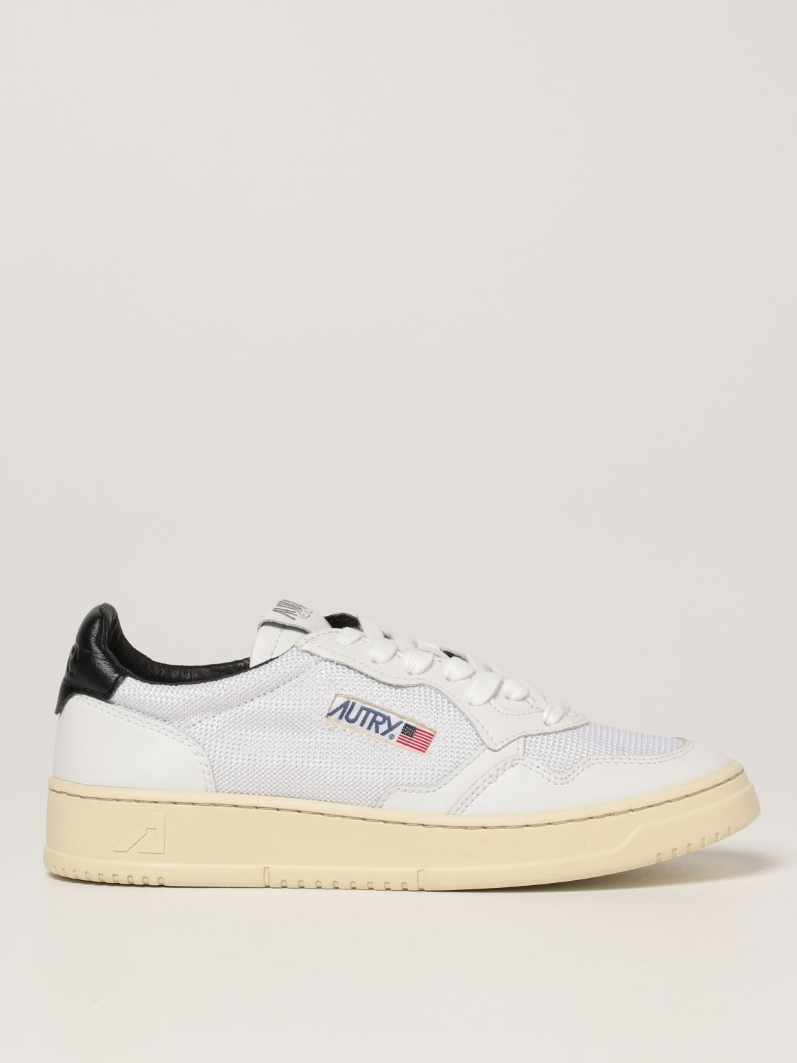 Baskets Autry: Chaussures homme Autry blanc 1
