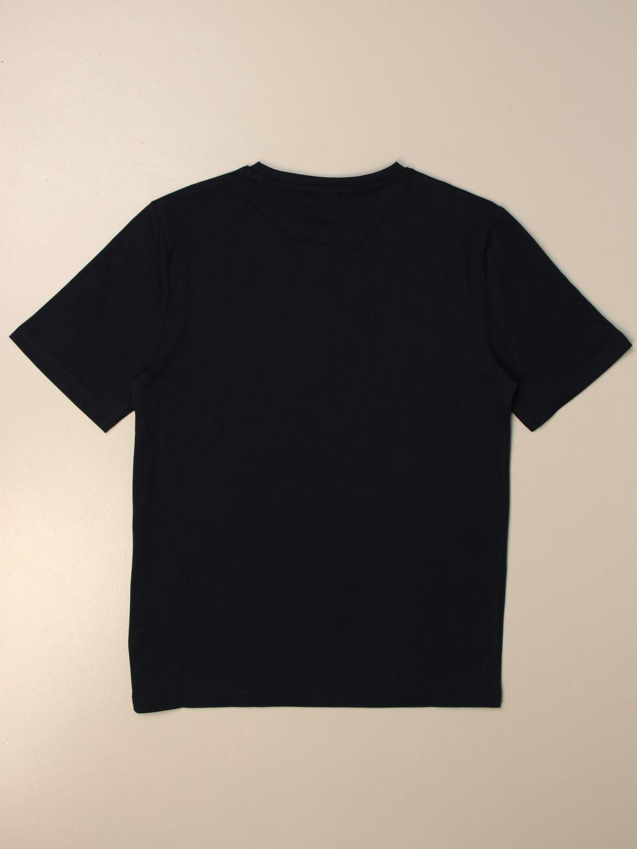 T-shirt Hugo Boss: Hugo Boss cotton t-shirt with logo blue 2