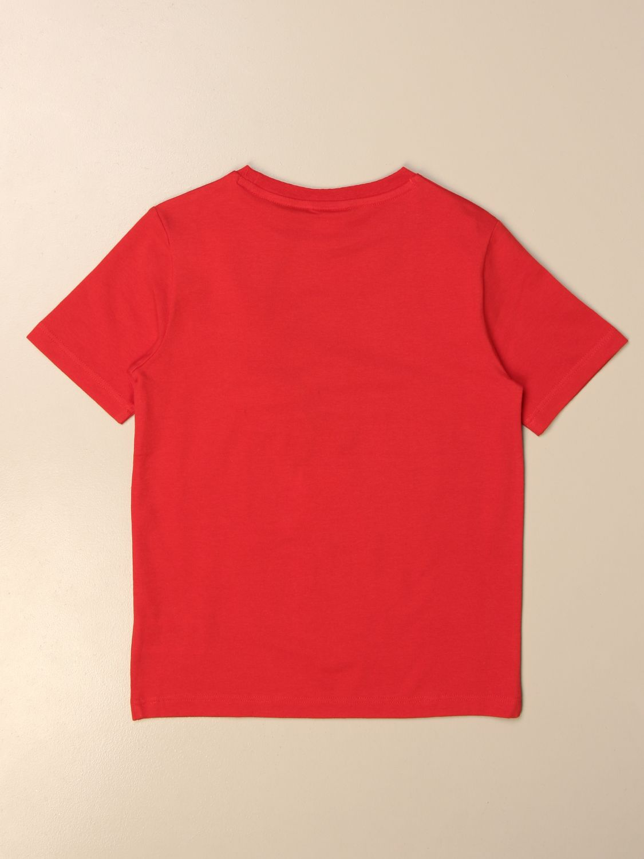 T-shirt Hugo Boss: Hugo Boss cotton t-shirt with logo red 2