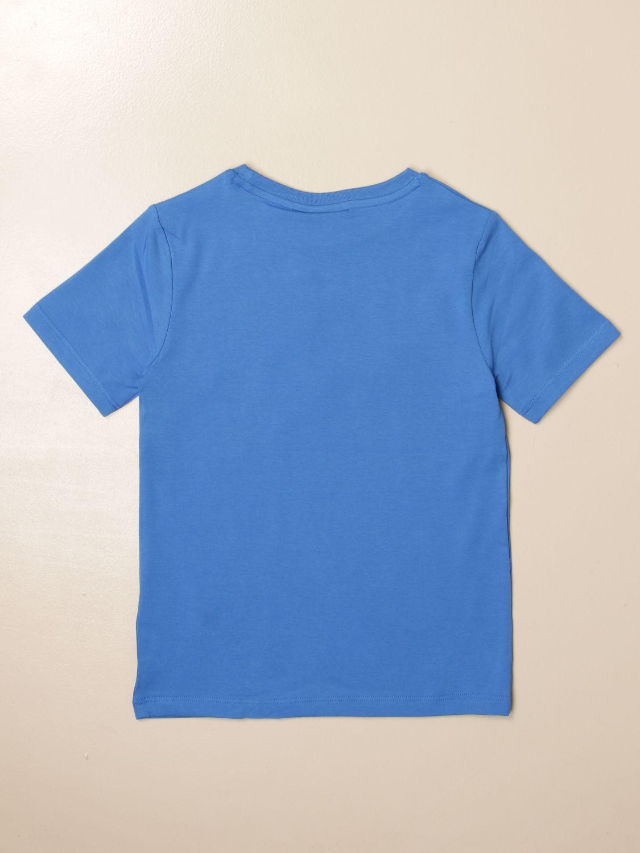 T-shirt Hugo Boss: Hugo Boss cotton t-shirt with logo royal blue 2
