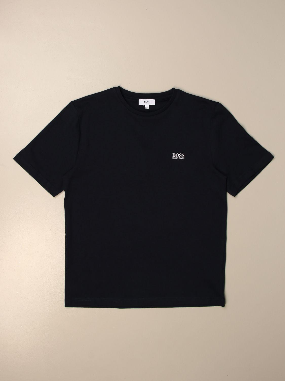 Camiseta Hugo Boss: Camiseta niños Hugo Boss azul oscuro 1