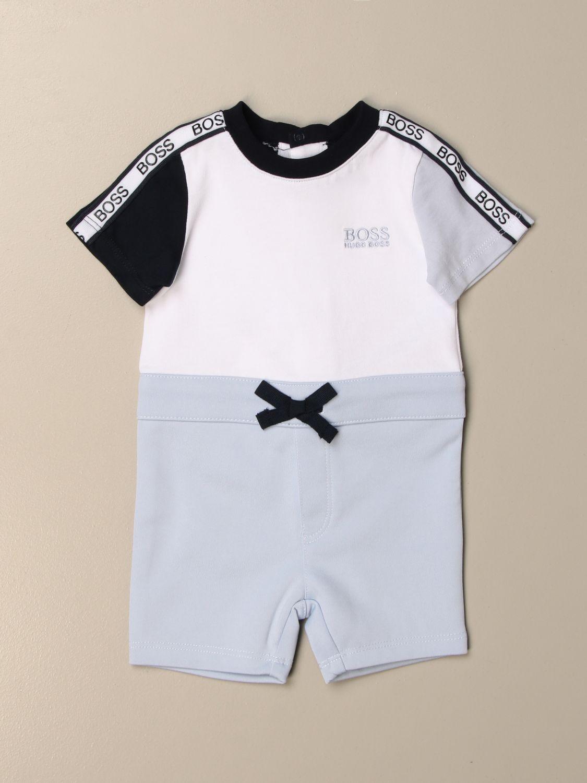BOSS Hugo Baby Nicky Polo Neck Romper