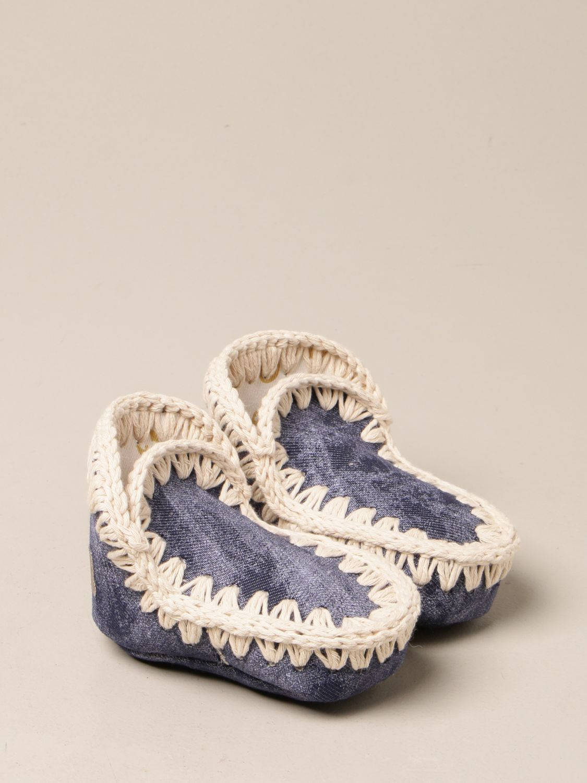 Zapatos Mou: Zapatos niños Mou denim 2