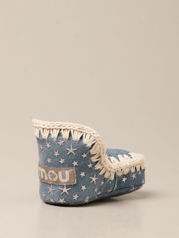 Zapatos Mou: Zapatos niños Mou stone washed 3