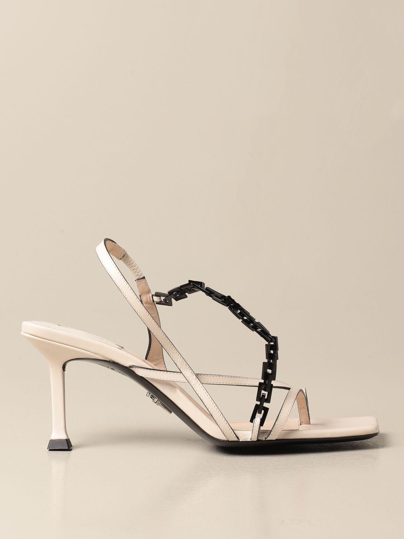 高跟凉鞋 Paciotti: 鞋 女士 Paciotti 奶油黄 1