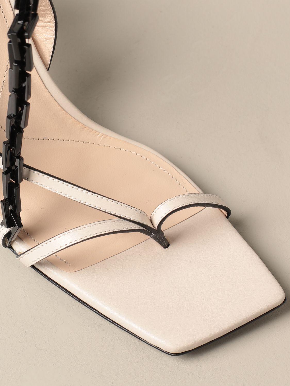 高跟凉鞋 Paciotti: 鞋 女士 Paciotti 奶油黄 4
