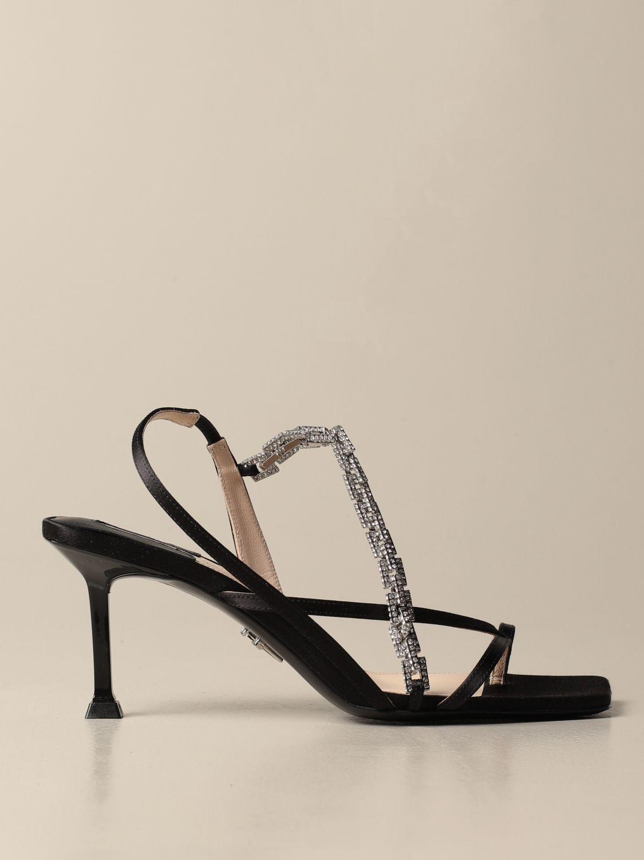 高跟凉鞋 Paciotti: 鞋 女士 Paciotti 黑色 1
