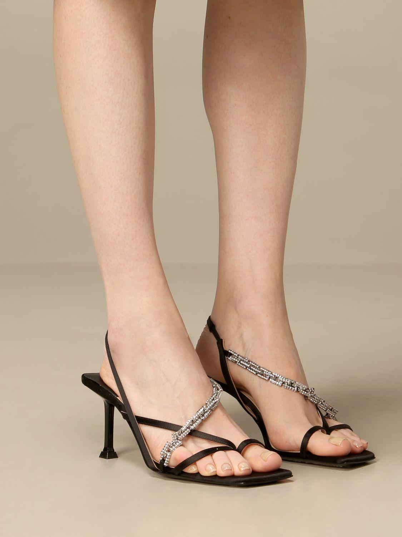 高跟凉鞋 Paciotti: 鞋 女士 Paciotti 黑色 2