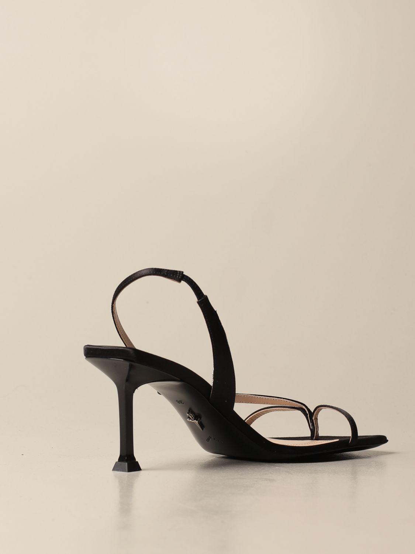 高跟凉鞋 Paciotti: 鞋 女士 Paciotti 黑色 3