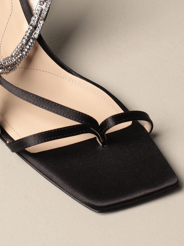 高跟凉鞋 Paciotti: 鞋 女士 Paciotti 黑色 4