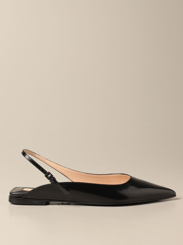 芭蕾平底鞋 Paciotti: 鞋 女士 Paciotti 黑色 1