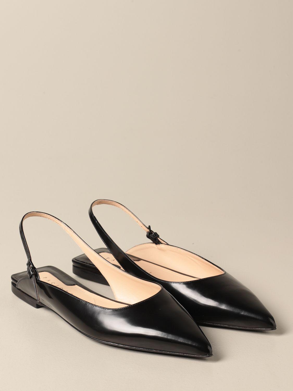 芭蕾平底鞋 Paciotti: 鞋 女士 Paciotti 黑色 2
