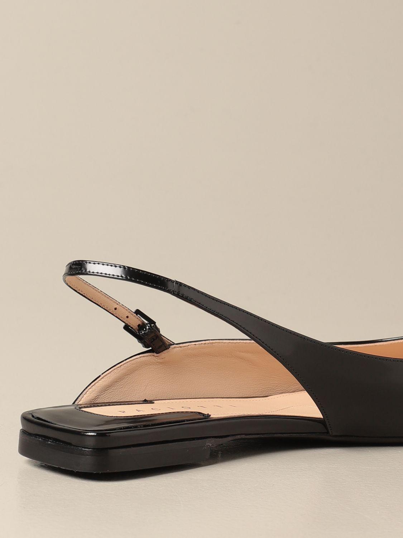 芭蕾平底鞋 Paciotti: 鞋 女士 Paciotti 黑色 3
