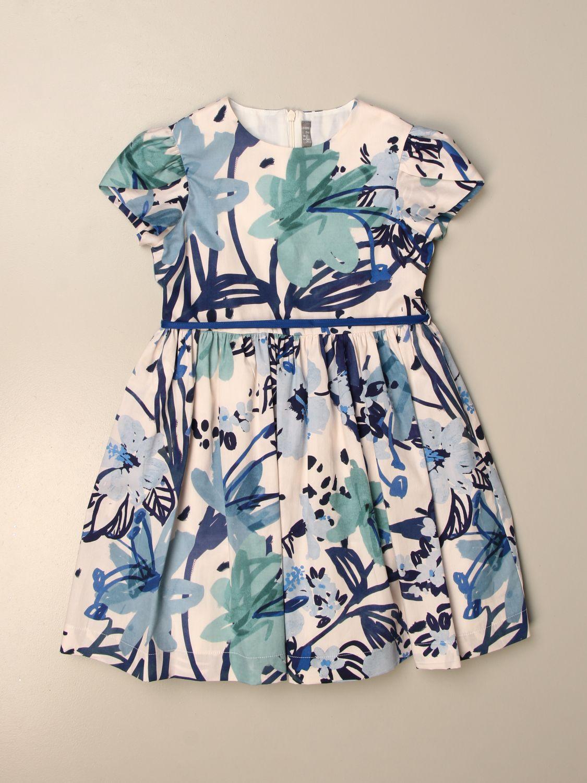 Kleid Il Gufo: Kleid kinder Il Gufo hellblau 1