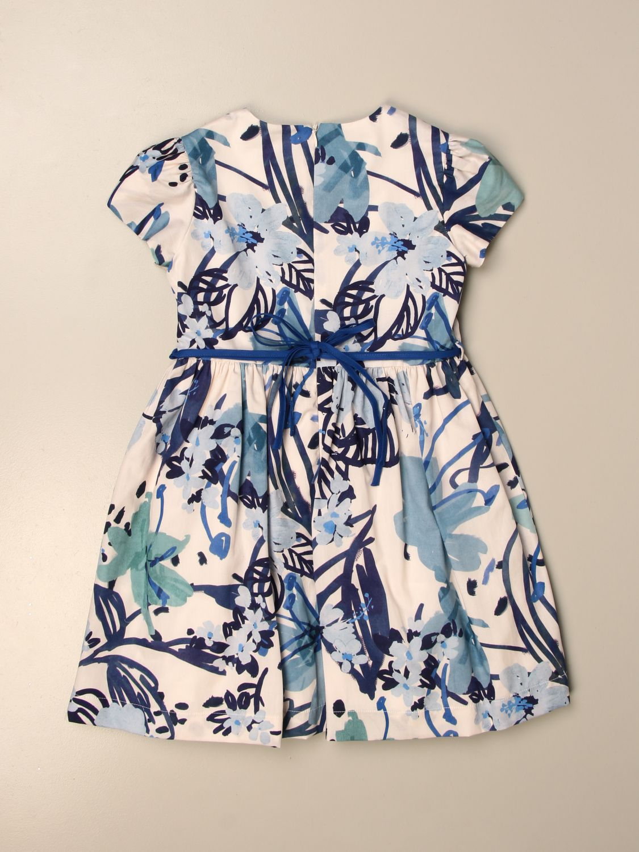 Kleid Il Gufo: Kleid kinder Il Gufo hellblau 2