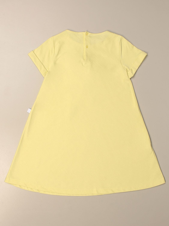 Kleid Il Gufo: Kleid kinder Il Gufo gelb 2