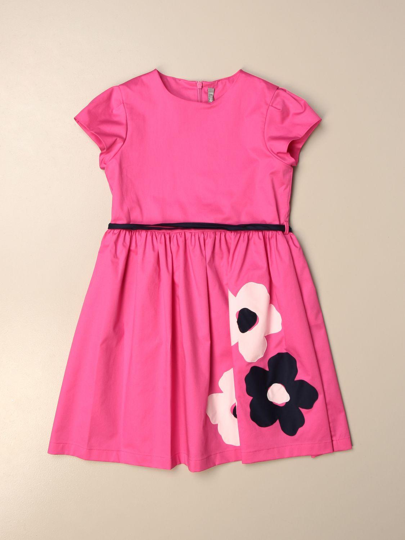 Платье Il Gufo: Платье Детское Il Gufo фуксия 1