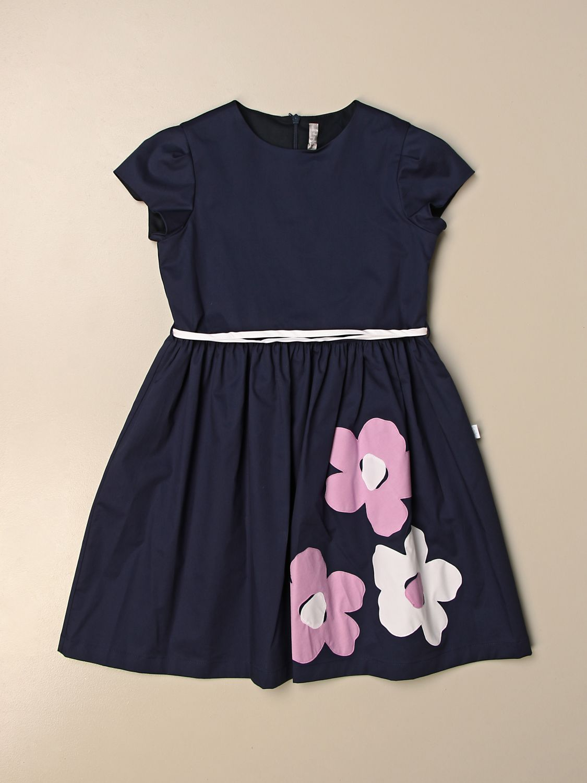 Kleid Il Gufo: Kleid kinder Il Gufo blau 1