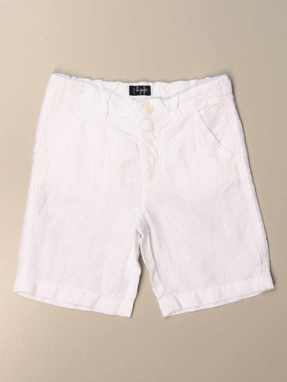Shorts Il Gufo: Shorts kinder Il Gufo weiß 1