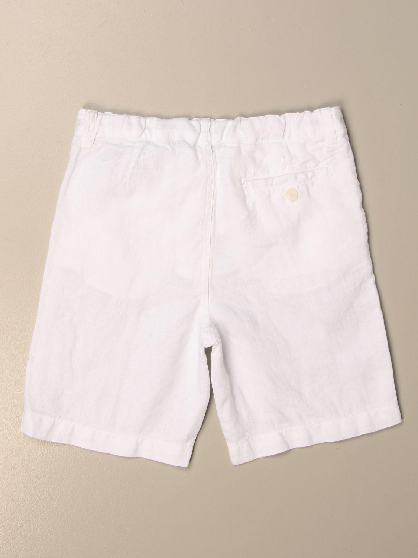 Shorts Il Gufo: Shorts kinder Il Gufo weiß 2