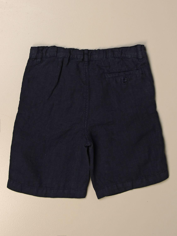 Pantalón corto Il Gufo: Pantalón corto niños Il Gufo azul oscuro 2