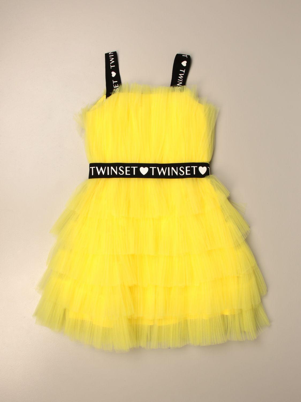 Vestido Twin Set: Vestido niños Twin Set amarillo 1