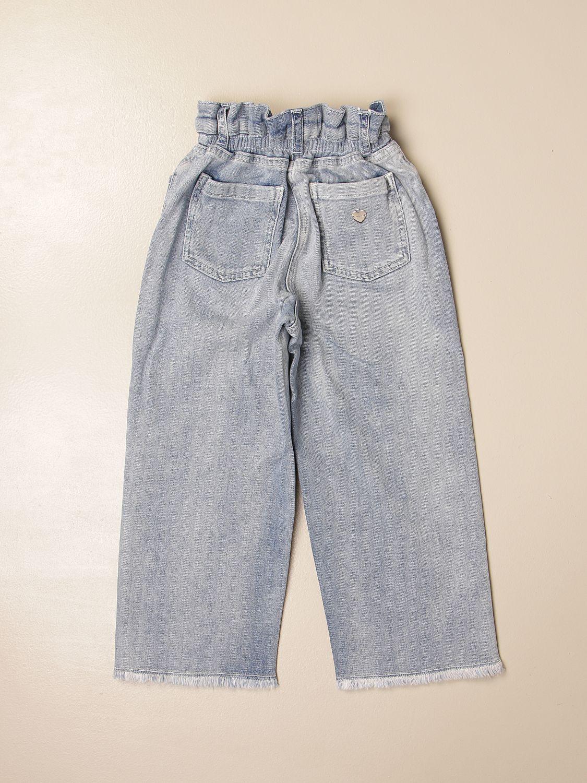 牛仔裤 Twin Set: 牛仔裤 儿童 Twin Set 牛仔布 2