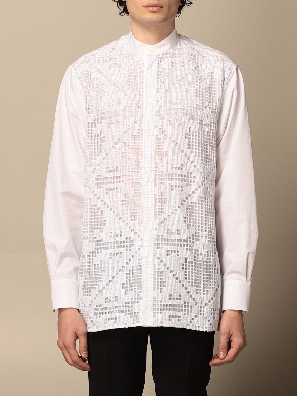 Camicia Valentino: Camicia Valentino in macramè bianco 1