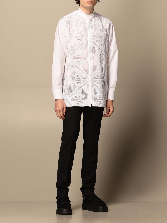Camicia Valentino: Camicia Valentino in macramè bianco 2