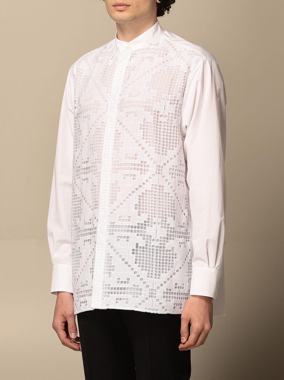 Camicia Valentino: Camicia Valentino in macramè bianco 4