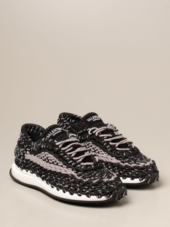 Sneakers Valentino Garavani: Sneakers Crochet Valentino Garavani nero 2
