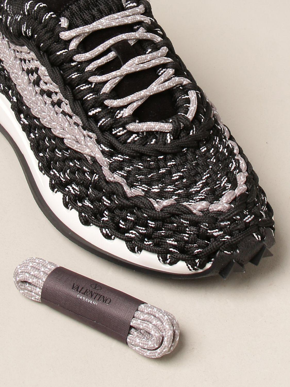 Sneakers Valentino Garavani: Sneakers Crochet Valentino Garavani nero 4