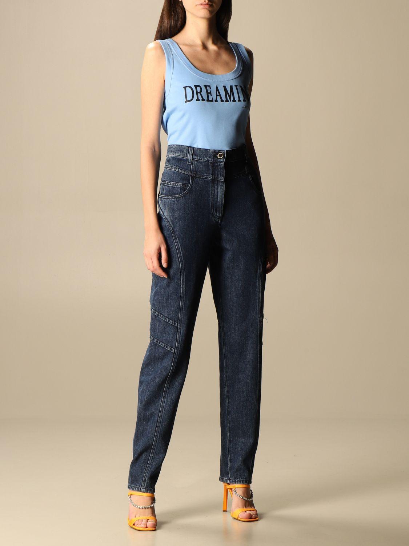 Jeans Alberta Ferretti: Jeans femme Alberta Ferretti denim 2