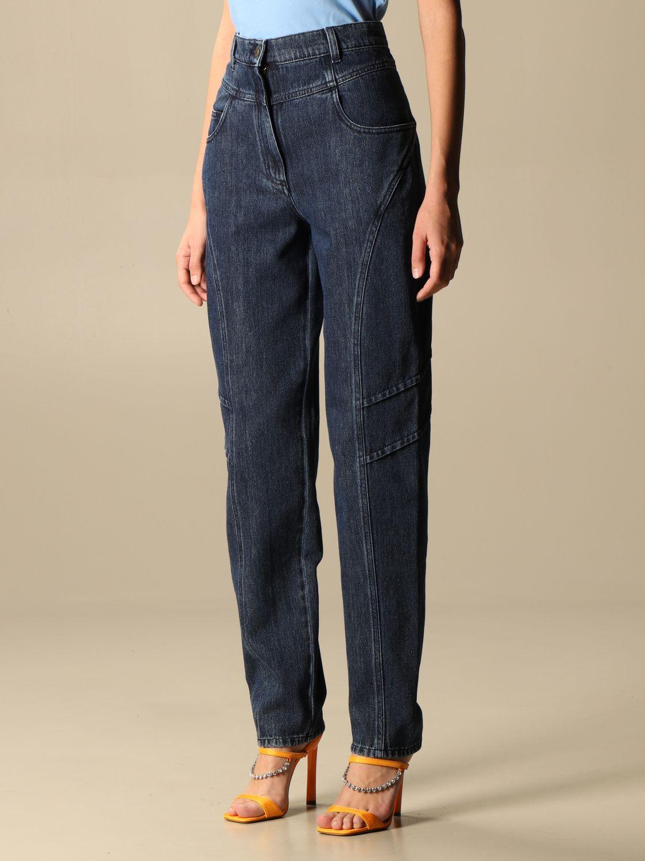 Jeans Alberta Ferretti: Jeans femme Alberta Ferretti denim 4