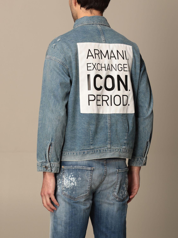 Jacket Armani Exchange: Jacket women Armani Exchange denim 3
