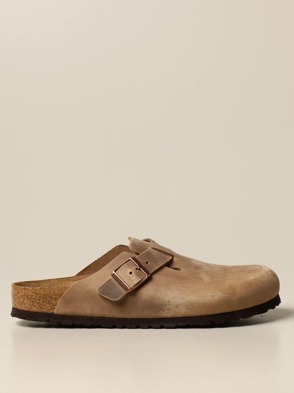 Sandals Birkenstock: Shoes men Birkenstock tobacco 1