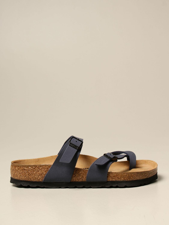 Sandals Birkenstock: Shoes men Birkenstock blue 1