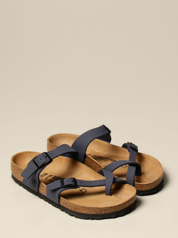 Sandals Birkenstock: Shoes men Birkenstock blue 2
