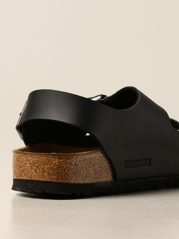 Sandals Birkenstock: Milano Birkenstock slipper sandal black 3