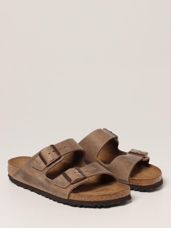 Sandalias Birkenstock: Zapatos hombre Birkenstock cuero 2