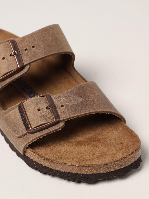 Sandalias Birkenstock: Zapatos hombre Birkenstock cuero 4