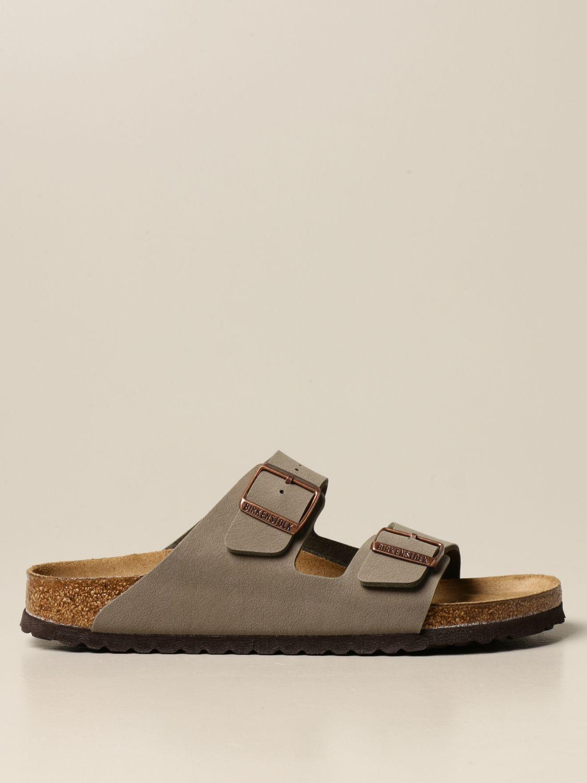 Sandals Birkenstock: Shoes men Birkenstock grey 1
