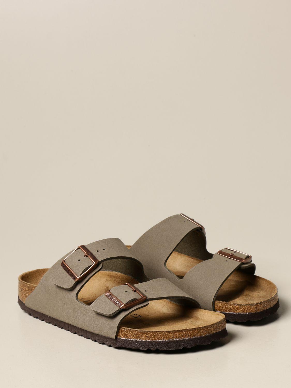 Sandals Birkenstock: Shoes men Birkenstock grey 2